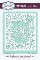 Paper Cuts Collection Festive Foliage Frame Craft Die