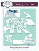 Paper Cuts 3D Collection - Polar Bear