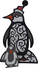 Paper Cuts 3D Collection - Penguin