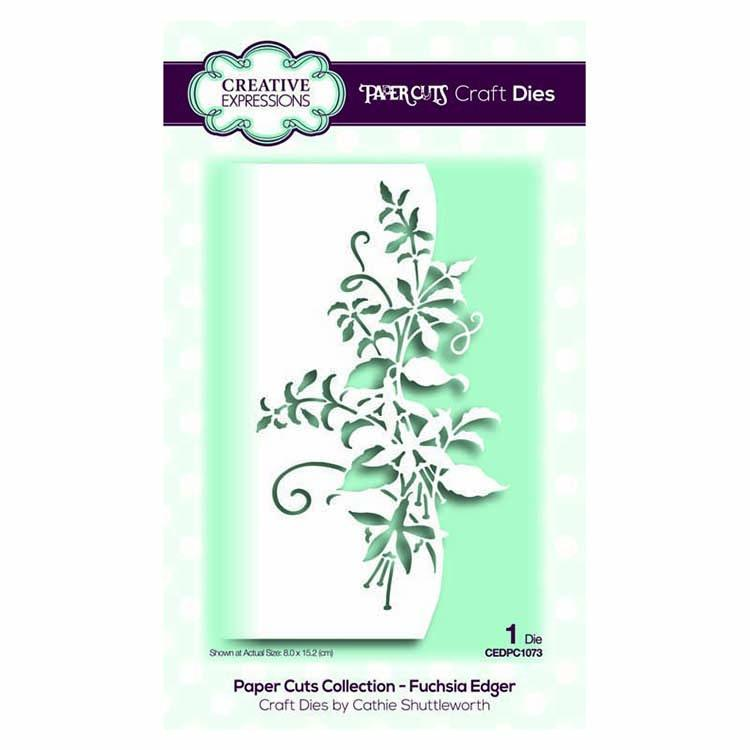 Creative Expressions Paper Cuts Collection - Fuchsia Edger