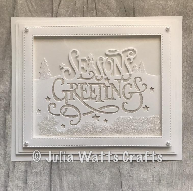 Creative Expressions Paper Cuts Collection - Seasons Greetings