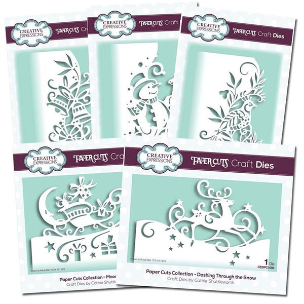Creative Expressions Christmas Edgers Bundle
