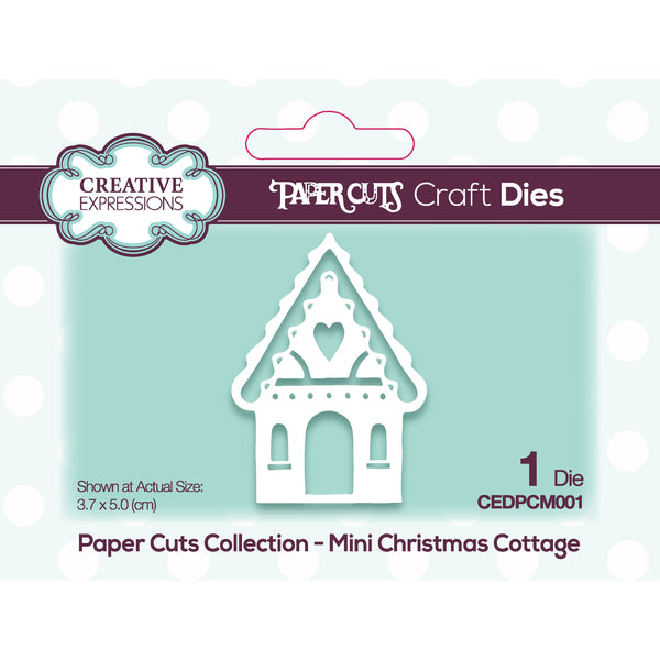 Paper Cuts Mini Christmas Cottage