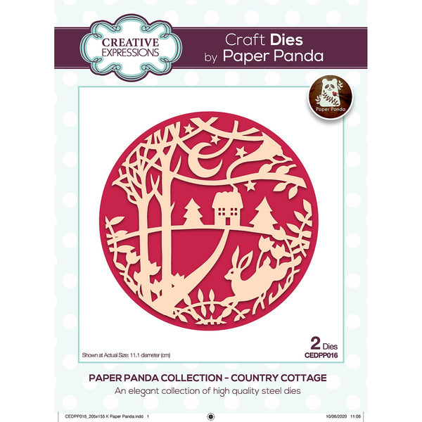 Paper Panda Country Cottage Craft Die