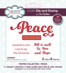 Dies by Sue Wilson Festive Peace Die & Stamp Set