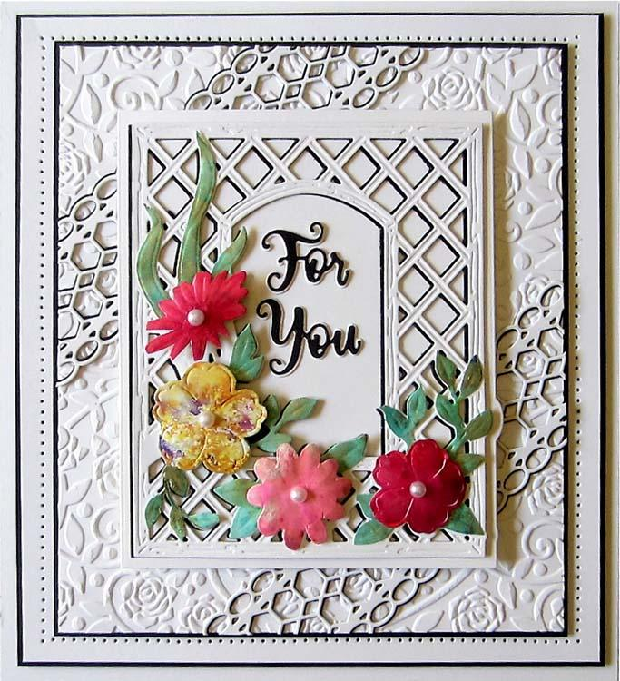 Creative Expressions Mini Shadowed Sentiments For You