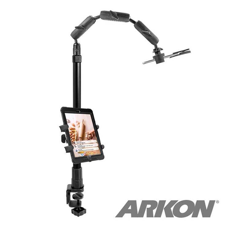 Arkon Mounts Remarkable Creators Clamp Phone or Camera Stand with Ring Light for Nail Art and Crafting Videos