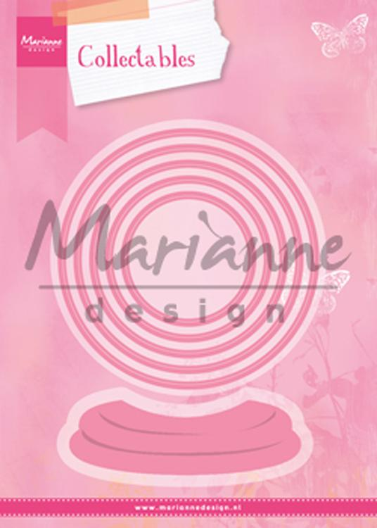 Marianne Design: Collectables Die Set - Snow Globe
