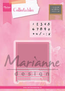 Marianne Design: Collectables Die & Stamp Set - Abacus