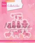 Marianne Design: Collectables Die Set - Nativity Set