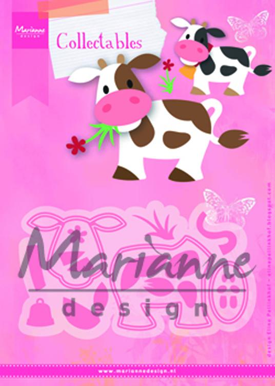 Marianne Design: Collectables -Eline's Cow