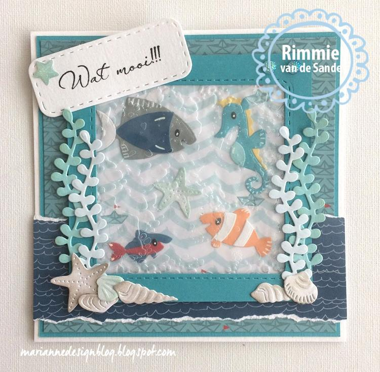 Marianne Design: Collectables Eline's Tropical Fish Die Set