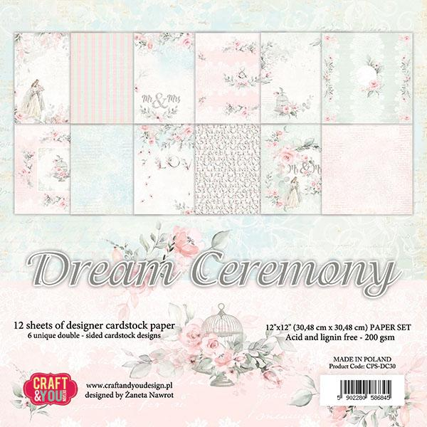 Dream Ceremony 12x12 Paper Pad