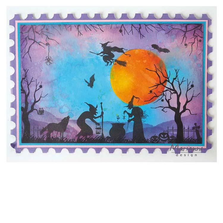 Marianne Design Stamps Silhouette Halloween