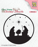 Clear Stamp Silhouette Nativity 3