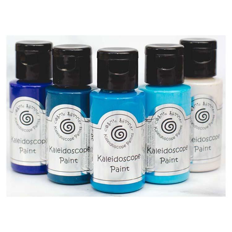 Cosmic Shimmer Kaleidoscope Paint Set Marine