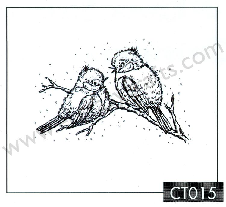 Clear Stamp - Christmas Time - Christmas Birds