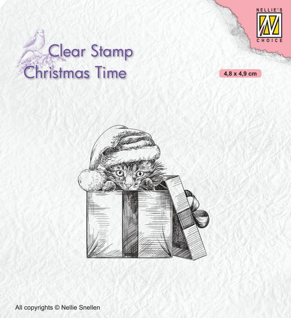 Christmas Time Clear Stamp Christmas Surprise