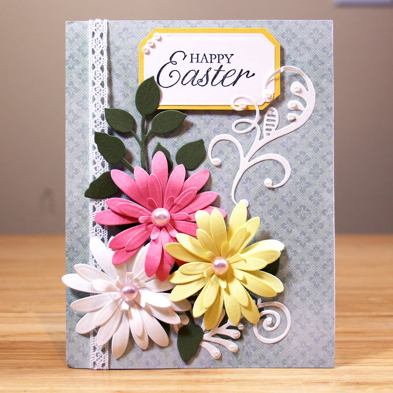 Finishing Touches Collection Delicate Daisies - Complete Petals Die