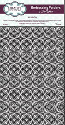 Creative Expressions Embossing Folder - Illussion A4