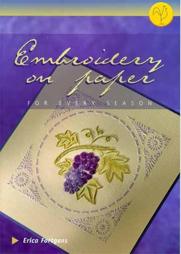 Embroidery on Paper For Every Season Book