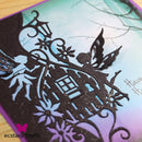 Creative Expressions Paper Cuts Collection - Fairy Door Edger