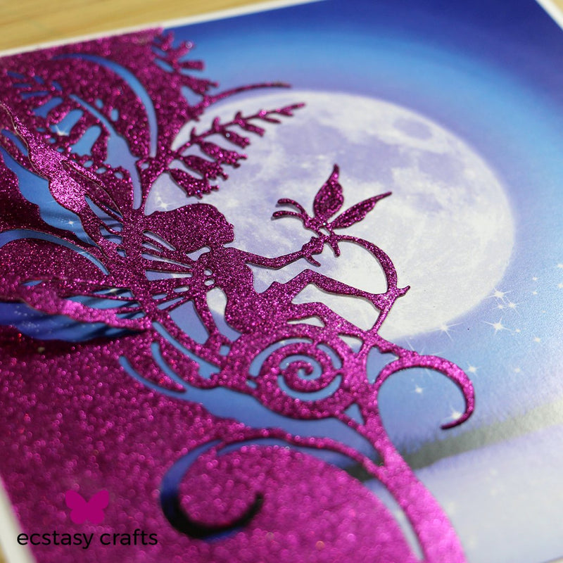 Creative Expressions Paper Cuts Collection - Bluebell Fairy Edger