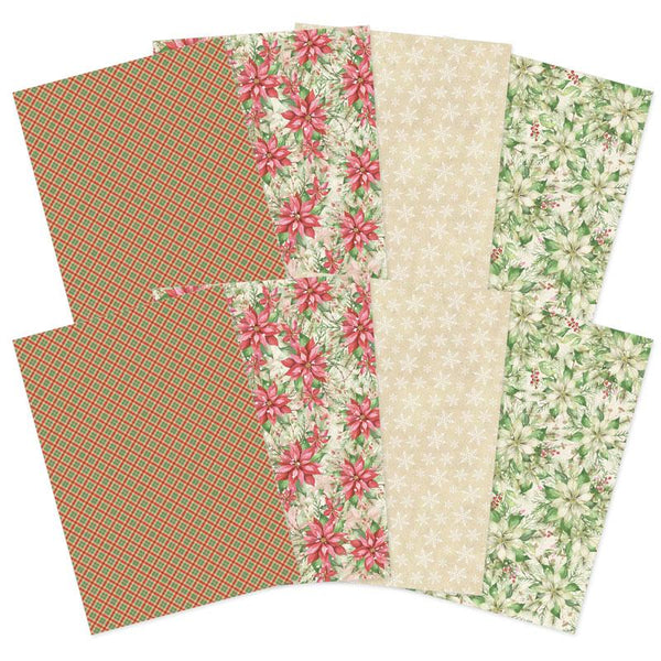 Forever Florals - Poinsettia Printed Parchment