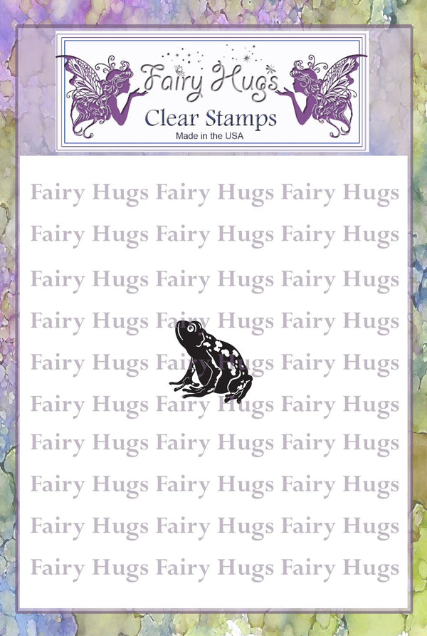 Fairy Hugs Stamps - Mini Frog