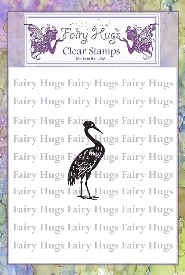Fairy Hugs Stamps - Heron