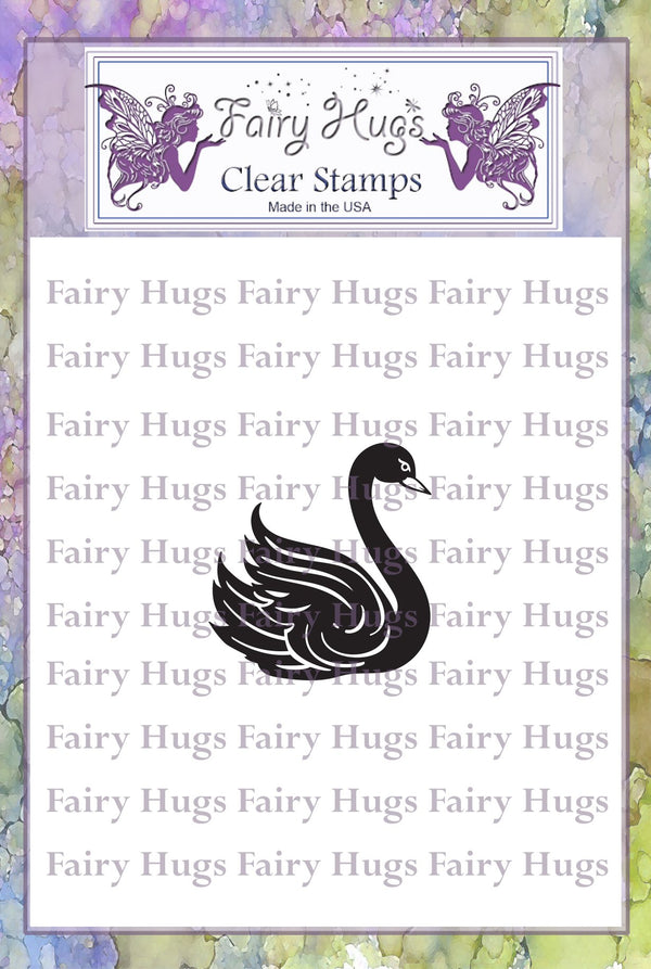 Fairy Hugs Stamps - Swan