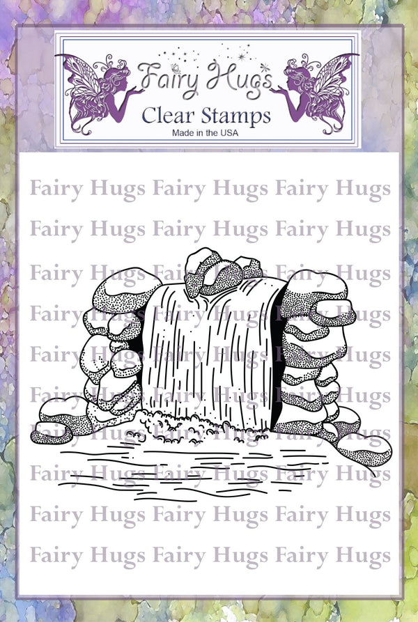 Fairy Hugs Stamps - Waterfall