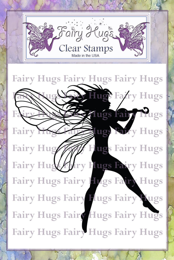 Fairy Hugs Stamps - Zelena
