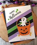 Frantic Stamper Precision Die - Cupcake and Halloween Toppers