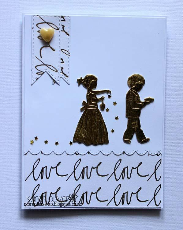 Frantic Stamper Precision Die - Flower Girl And Ring Bearer