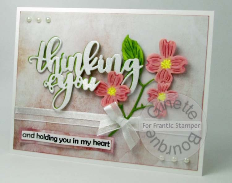 Frantic Stamper Precision Die - Giant Layered Thinking Of You