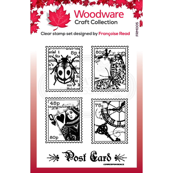 Woodware Clear Singles Mini Postage