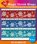 Hearty Crafts Magic Shrink Wraps. Ice Crystal (6cm)