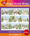 Hearty Crafts Magic Shrink Wraps. Winter Village (10cm)