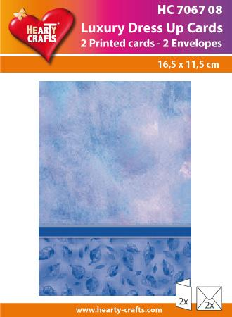 Luxury Dress Up Cards - Blue