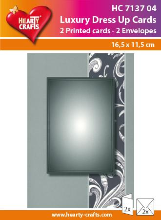Luxury Dress Up Cards - Grey