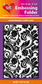 Hearty Crafts Embossing Folder 4 X 6 -  Swirl 2