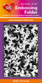 Hearty Crafts Embossing Folder 4 X 6 -  Floral
