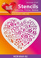 Hearty Crafts Heart Stencil 5.5 x 4