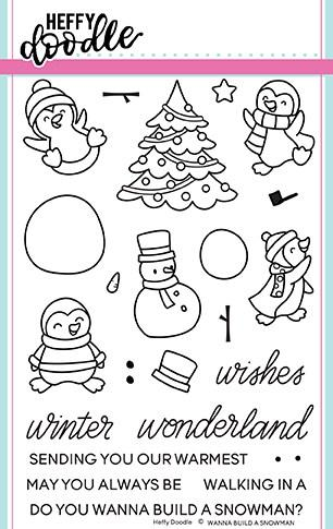 Wanna Build A Snowman Stamps