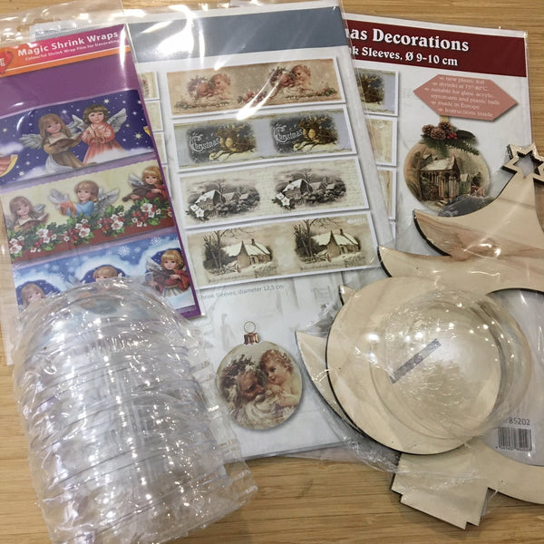 Christmas Ornament Making Bundle