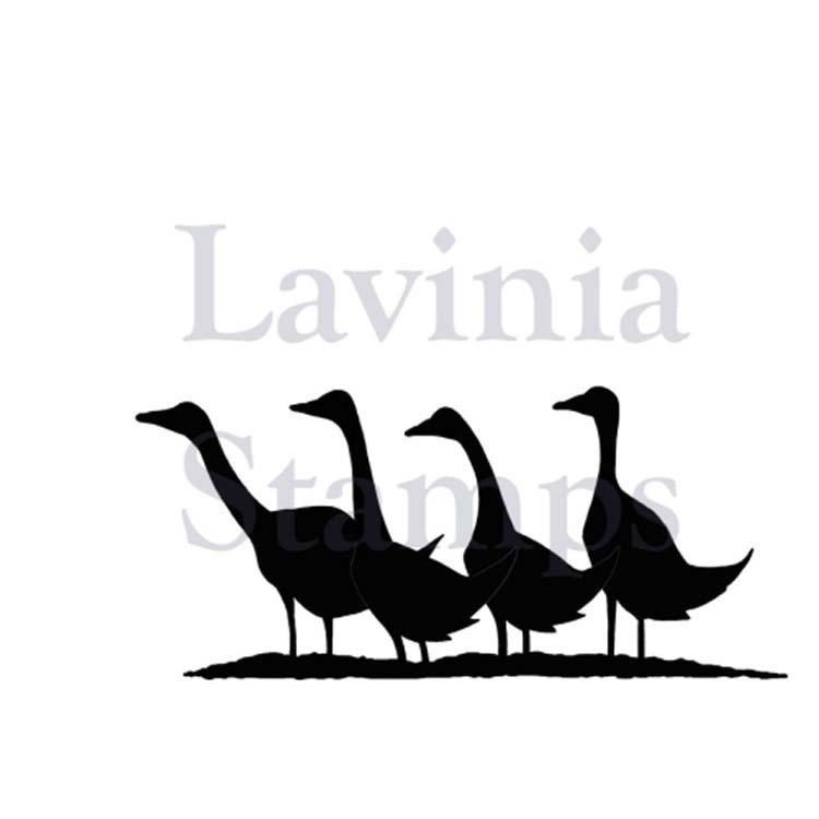 Lavinia Stamp - Gaggle of Geese