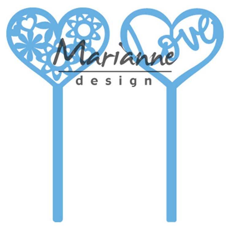 Marianne Design Creatables Heart Pins (set of 2)