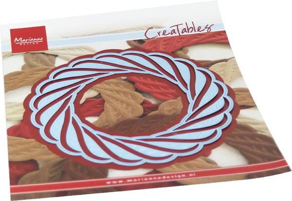 Creatables Wicker Wreath Die