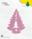 Multi Frame Dies - Christmas Trees 3